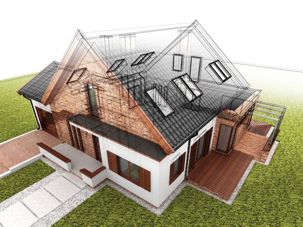 Мы строим дома по индивидуальным проектам